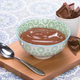 Ready to go chocolade pudding