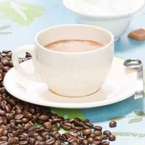 Drank romige cappuccino