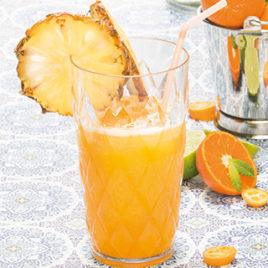 Drank ananas sinaasappel
