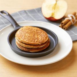 American pancakes appel-kaneel