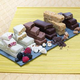 Variatie repen chocolade