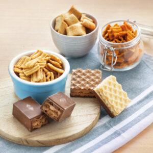 Variatie snacks