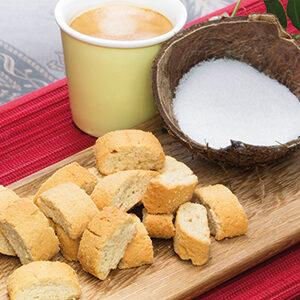 Cantuccini kokos