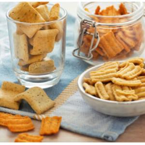 Variatie hartige snacks
